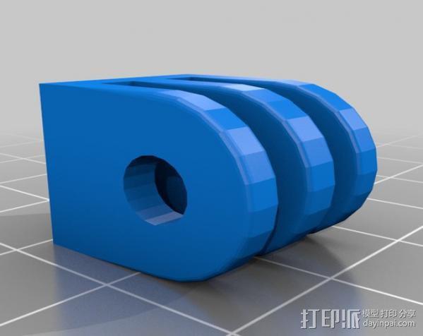 定制化GoPro相机支架 3D模型  图9