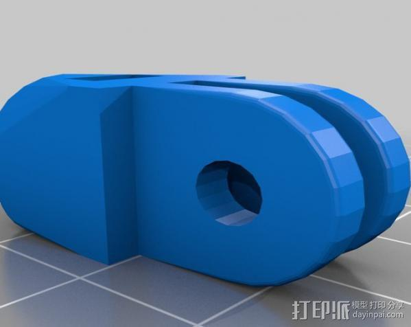 定制化GoPro相机支架 3D模型  图10
