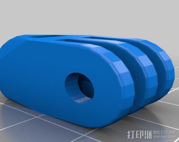 定制化GoPro相机支架 3D模型  图13
