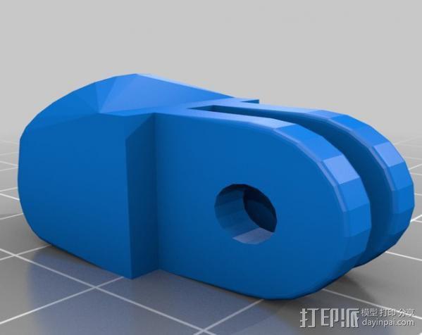 定制化GoPro相机支架 3D模型  图12