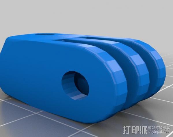定制化GoPro相机支架 3D模型  图14