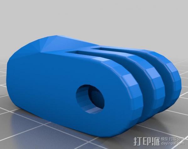 定制化GoPro相机支架 3D模型  图15