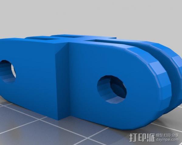 定制化GoPro相机支架 3D模型  图18