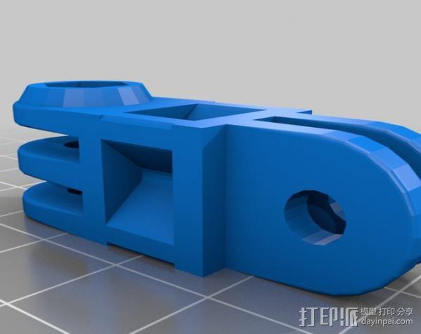 定制化GoPro相机支架 3D模型  图19