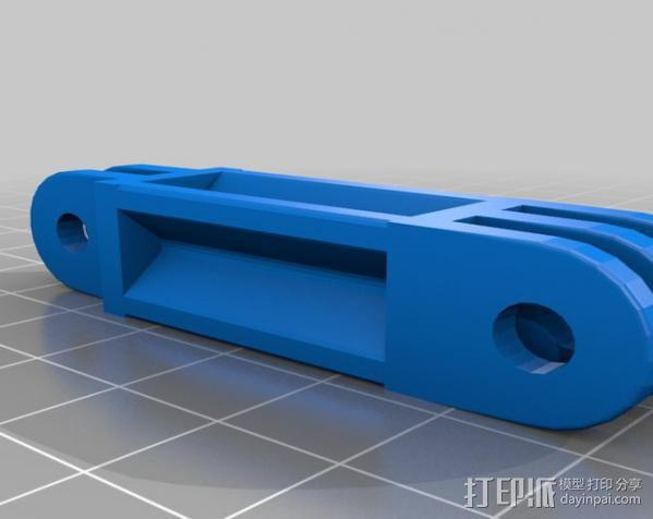 定制化GoPro相机支架 3D模型  图20