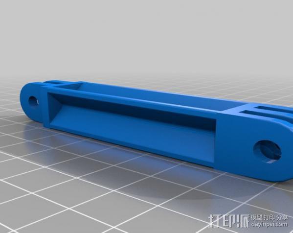 定制化GoPro相机支架 3D模型  图21
