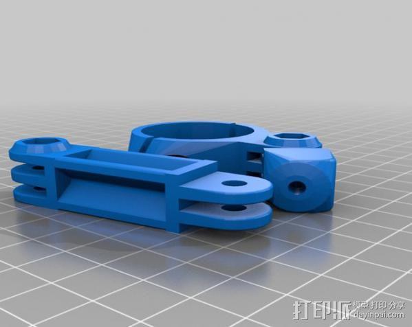 定制化GoPro相机支架 3D模型  图22