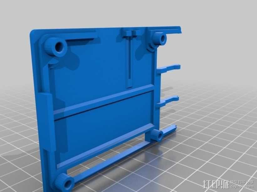 树莓派B+外壳 3D模型  图4