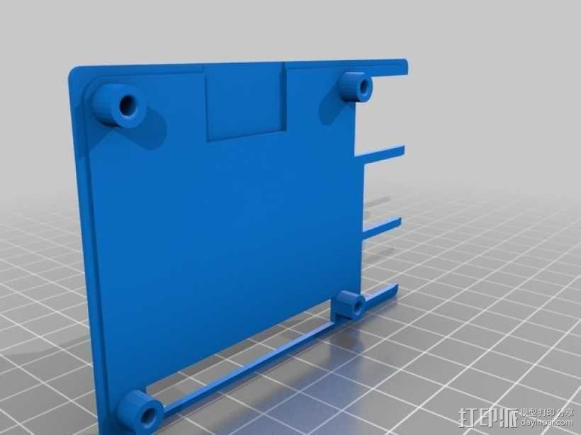 树莓派B+外壳 3D模型  图8