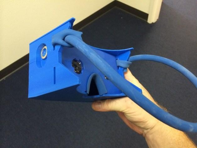 """谷歌""""纸板""""虚拟现实眼镜 3D模型  图5"""