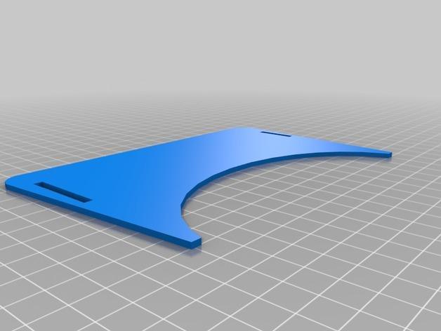 """谷歌""""纸板""""虚拟现实眼镜 3D模型  图4"""