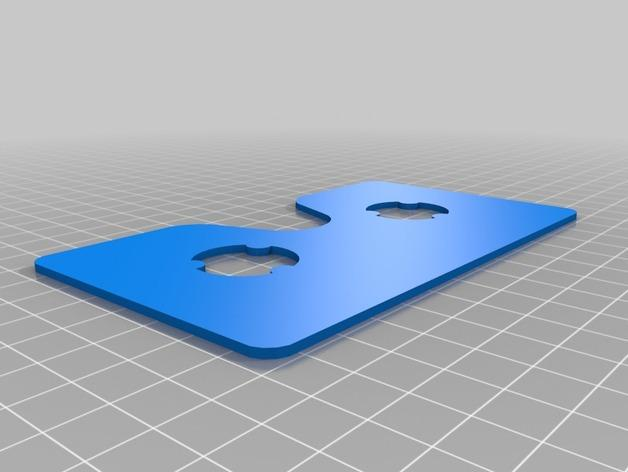 """谷歌""""纸板""""虚拟现实眼镜 3D模型  图3"""