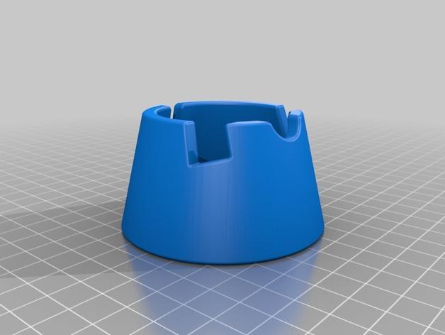 iPhone 4/4S/5/5C/5S手机架 3D模型  图2