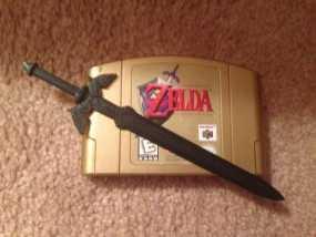 游戏《塞尔达传说》大师之剑 3D模型