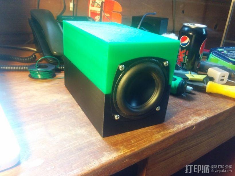 SpeakerGen扬声器外壳 3D模型  图1