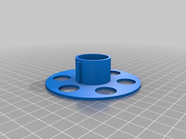 定制化线轴 3D模型  图2