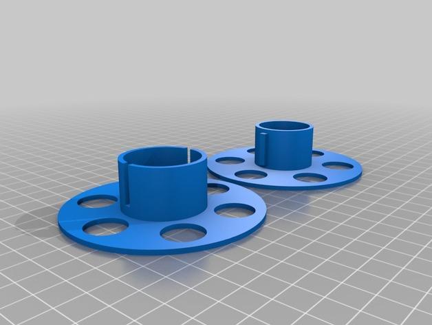 定制化线轴 3D模型  图4