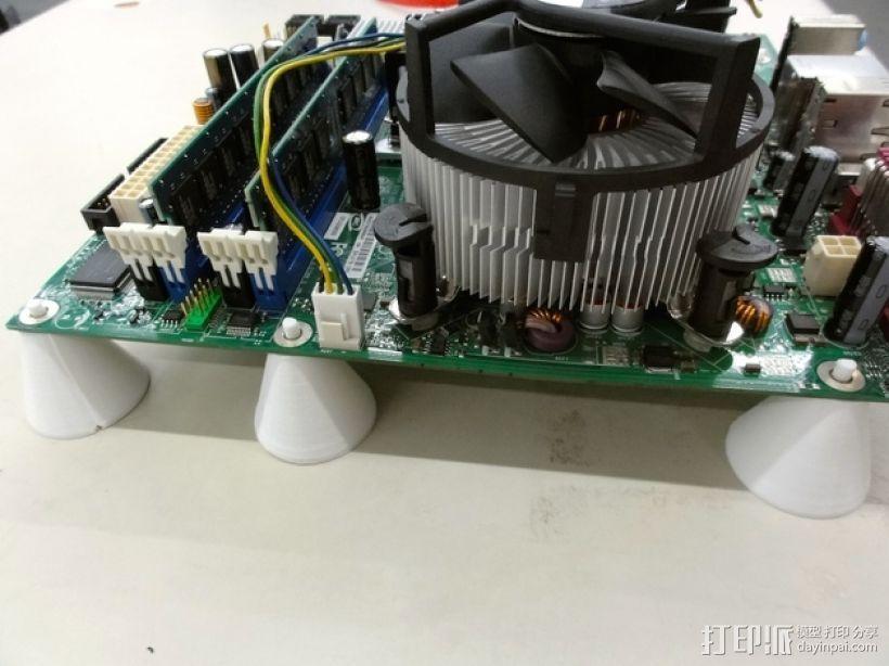 PC电脑主板支架 3D模型  图1