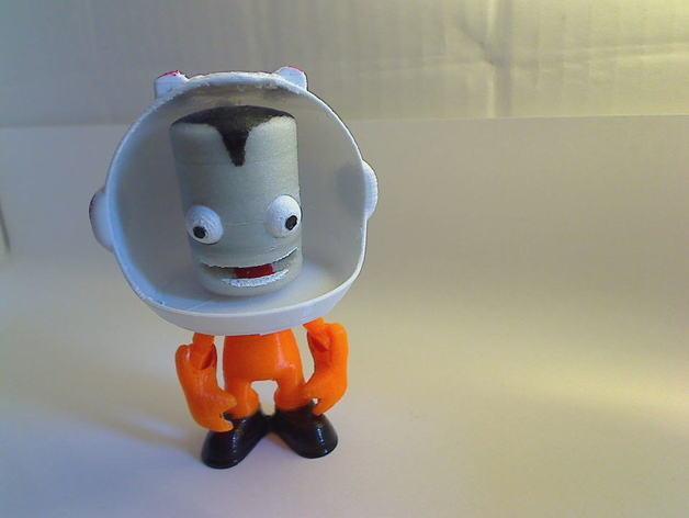 Kerbonaut太空人 3D模型  图3