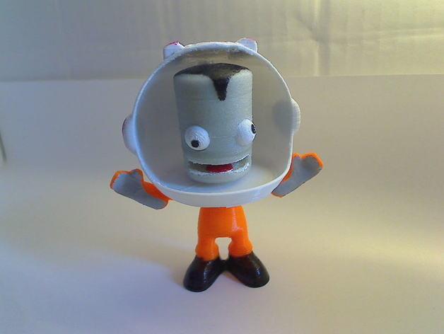 Kerbonaut太空人 3D模型  图2