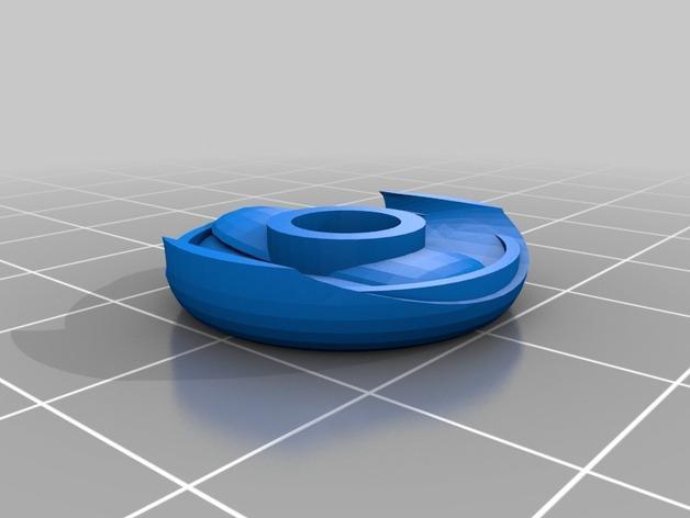 Kerbonaut太空人 3D模型  图9