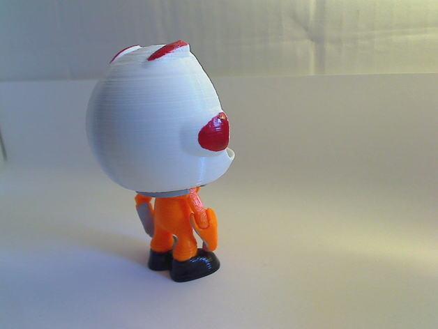 Kerbonaut太空人 3D模型  图5