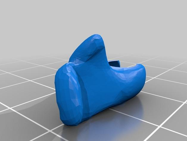 Kerbonaut太空人 3D模型  图14