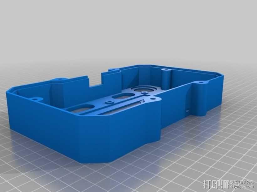 便携式树莓派游戏机模拟装置 3D模型  图19