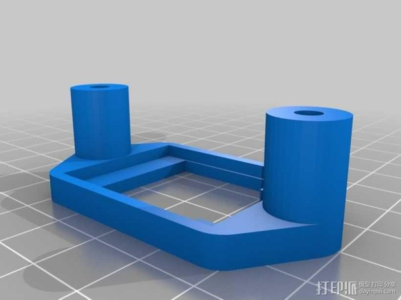 便携式树莓派游戏机模拟装置 3D模型  图17