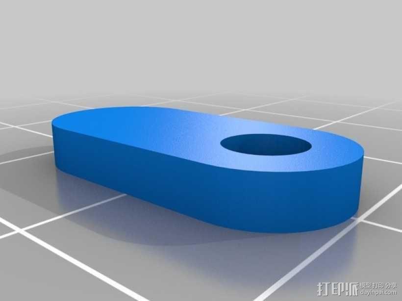便携式树莓派游戏机模拟装置 3D模型  图18