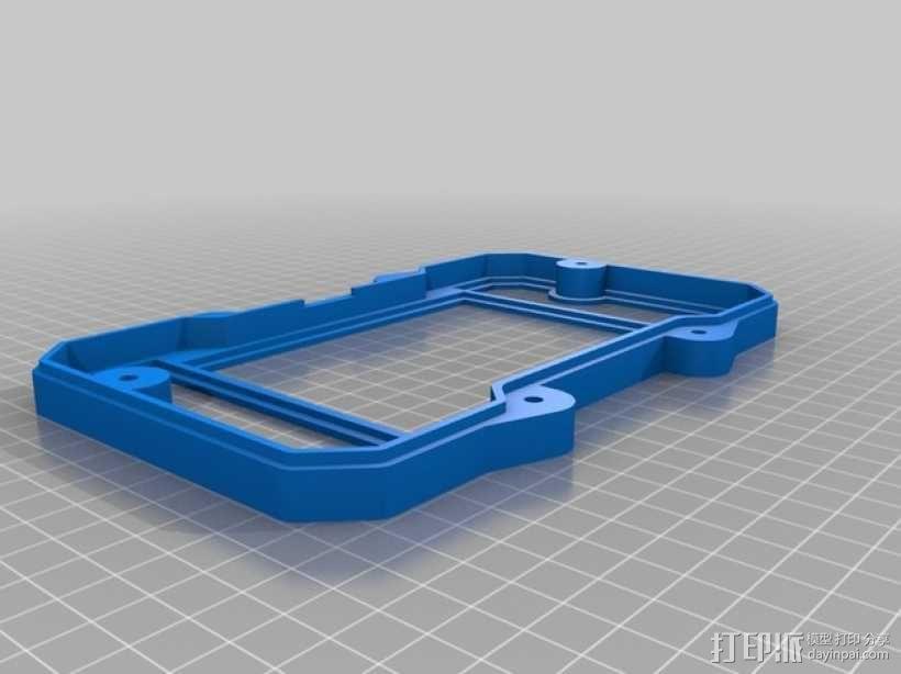 便携式树莓派游戏机模拟装置 3D模型  图23