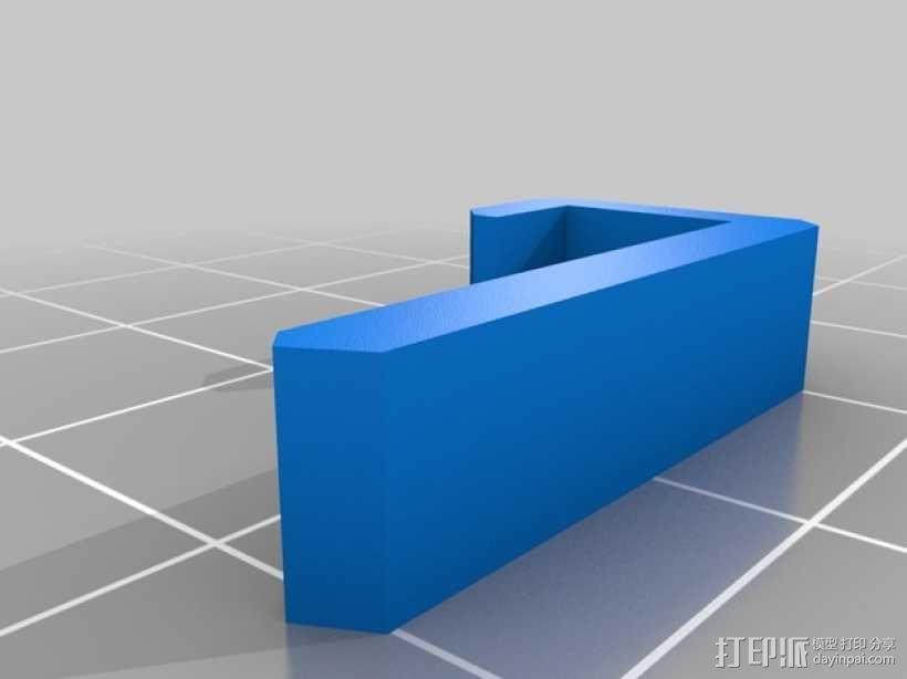 便携式树莓派游戏机模拟装置 3D模型  图25