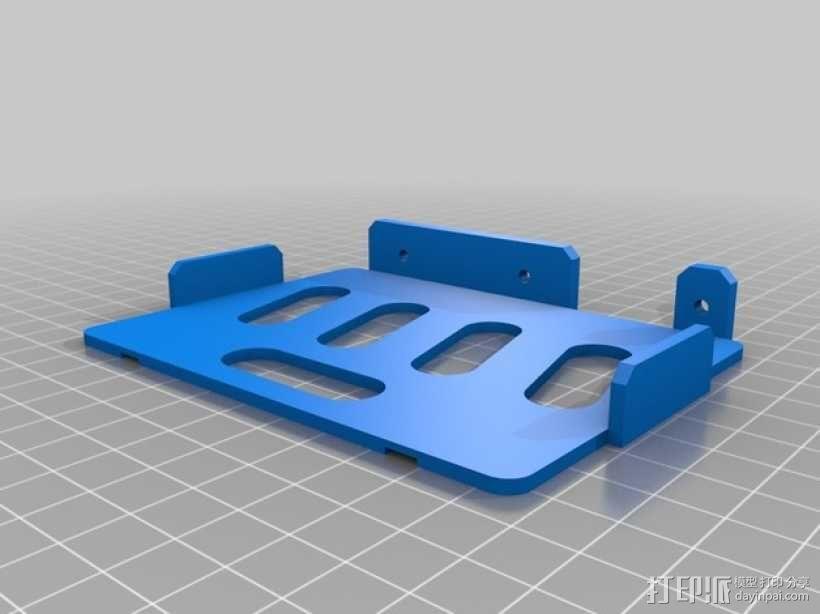 便携式树莓派游戏机模拟装置 3D模型  图26