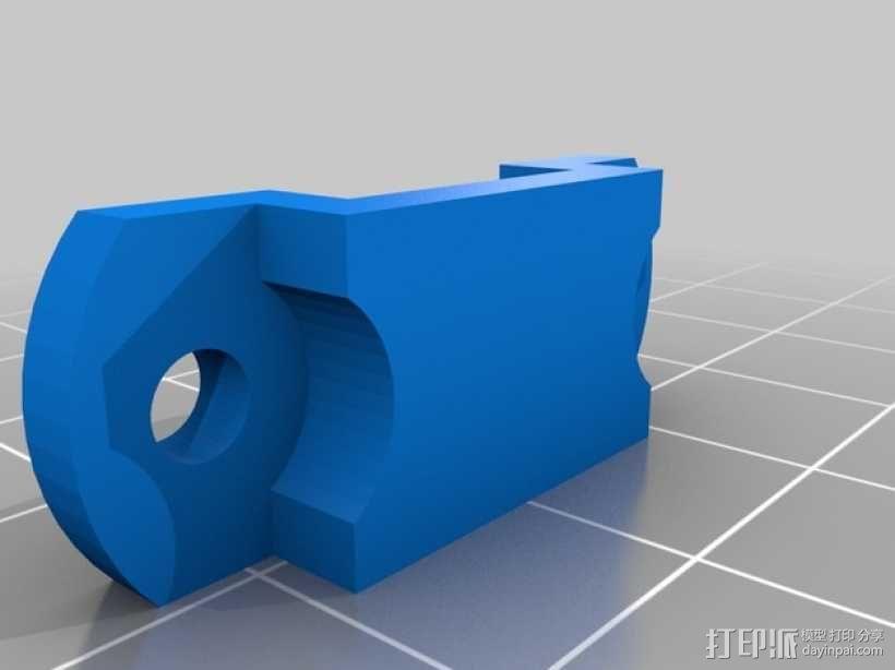 便携式树莓派游戏机模拟装置 3D模型  图27