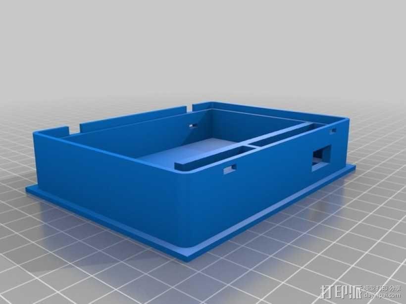 便携式树莓派游戏机模拟装置 3D模型  图29
