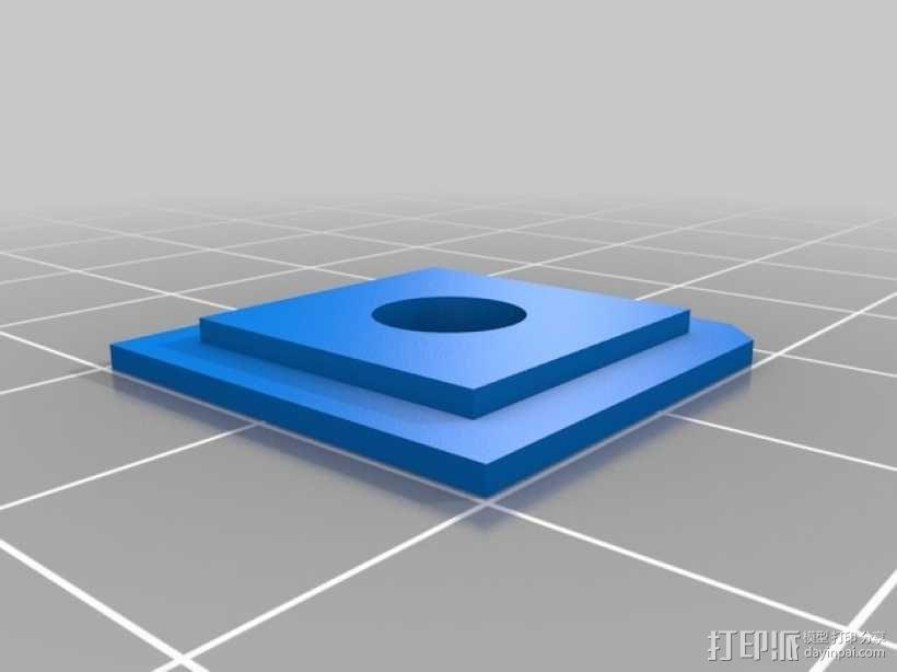 便携式树莓派游戏机模拟装置 3D模型  图31