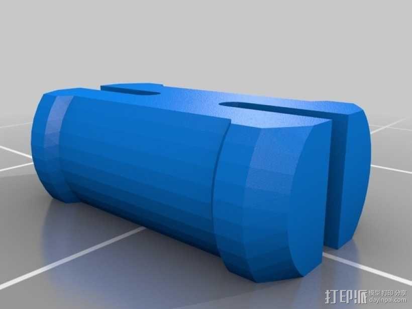 便携式GoPro Hero 3相机固定装置 3D模型  图17