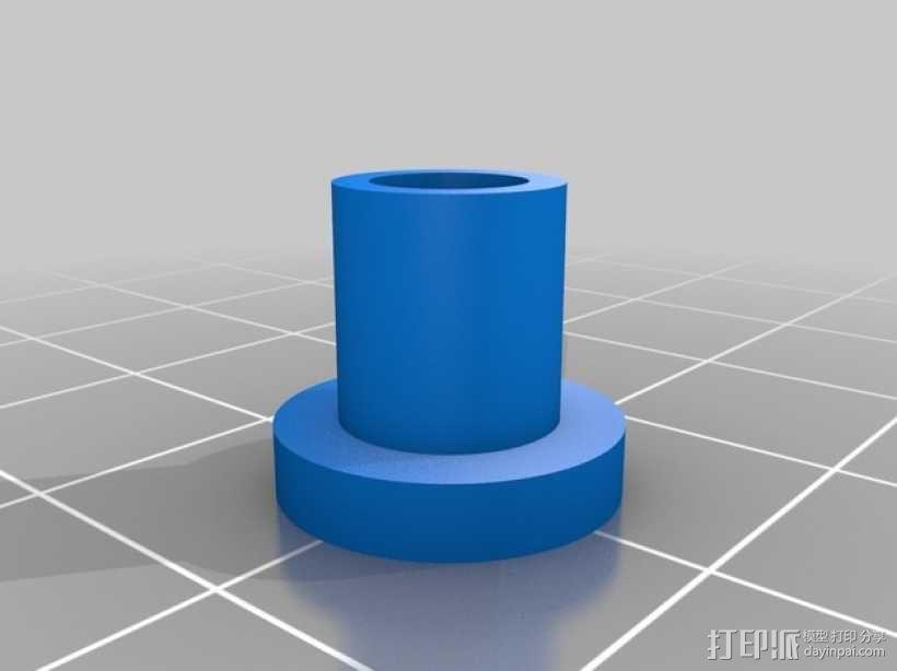便携式GoPro Hero 3相机固定装置 3D模型  图20