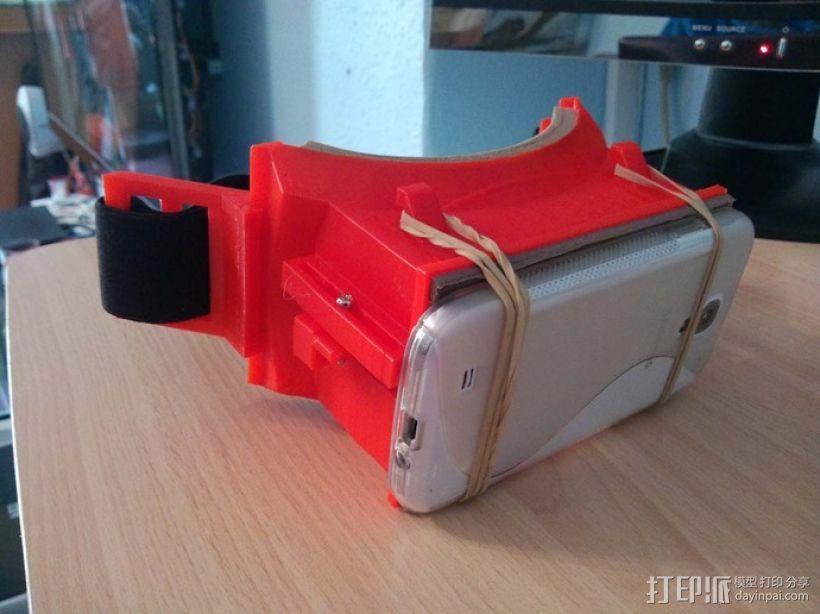 安卓智能手机虚拟现实眼镜 3D模型  图1
