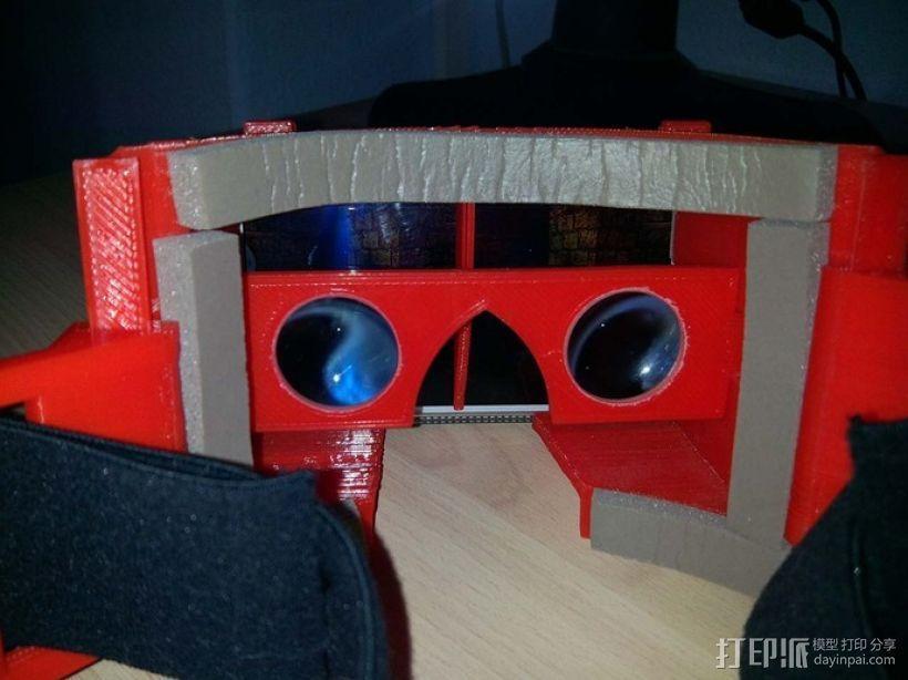 安卓智能手机虚拟现实眼镜 3D模型  图2