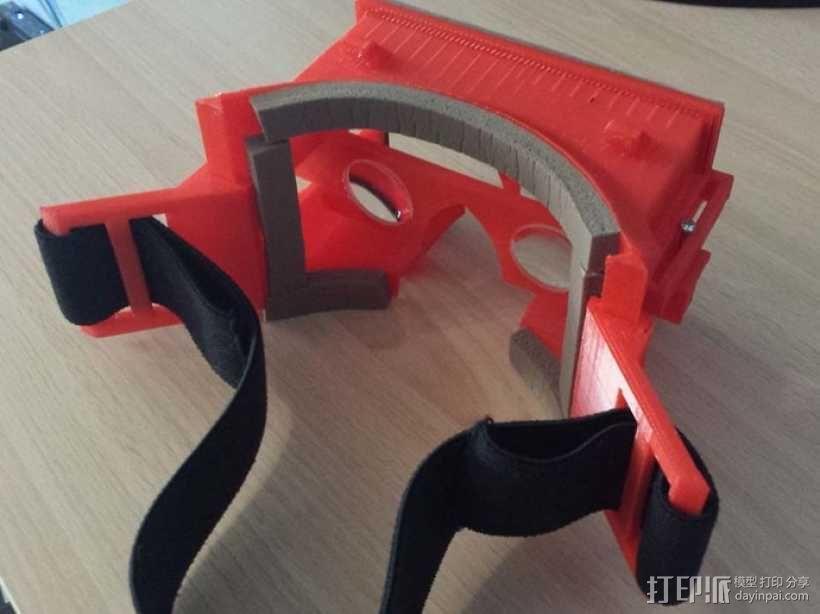 安卓智能手机虚拟现实眼镜 3D模型  图7