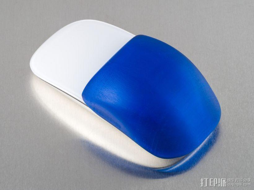 苹果无线鼠标零部件 3D模型  图1