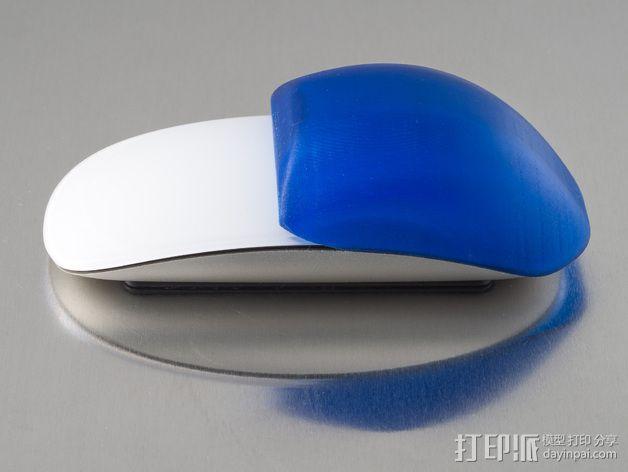 苹果无线鼠标零部件 3D模型  图2