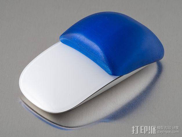 苹果无线鼠标零部件 3D模型  图3