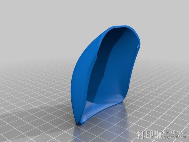 苹果无线鼠标零部件 3D模型  图5