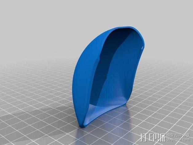 苹果无线鼠标零部件 3D模型  图6