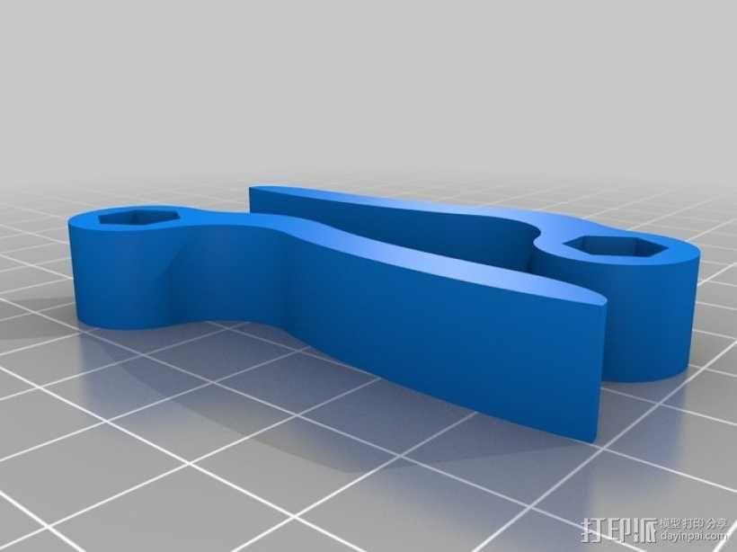 可调节平板电脑支架 3D模型  图7