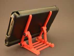 可调节平板电脑支架 3D模型