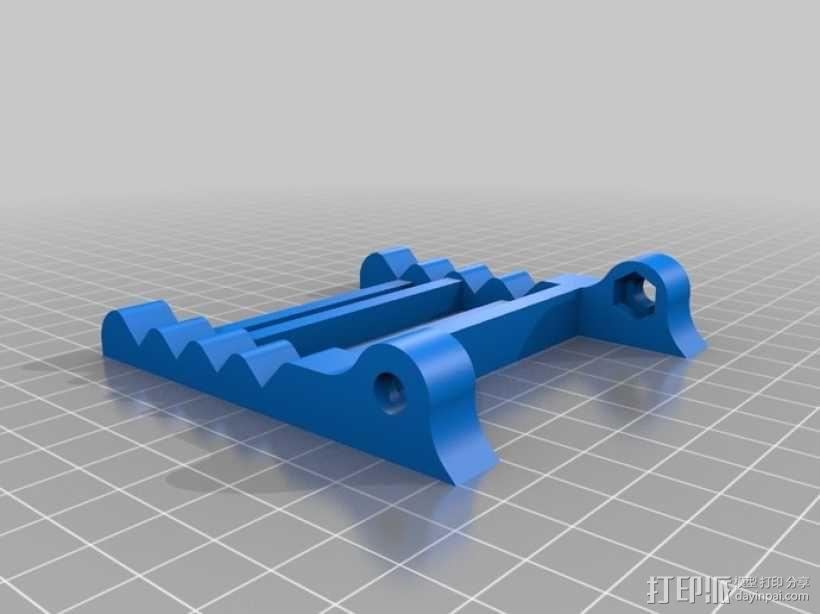 可调节平板电脑支架 3D模型  图11
