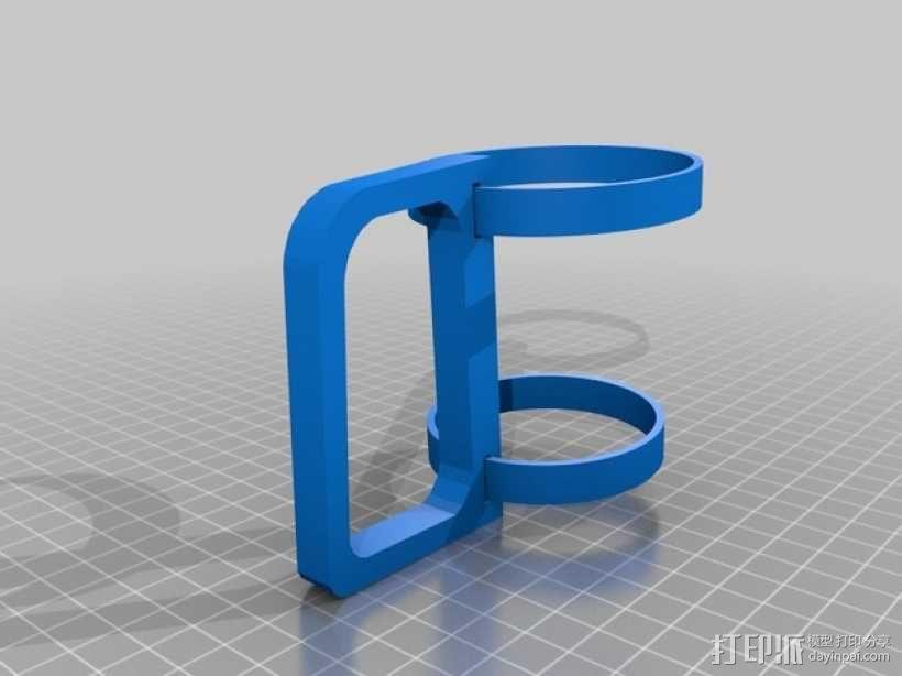 纸杯杯架/把手 3D模型  图4